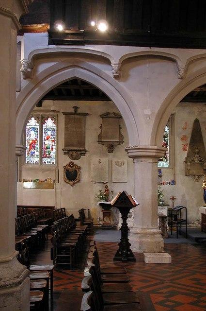 St Mary, Hayes - Interior