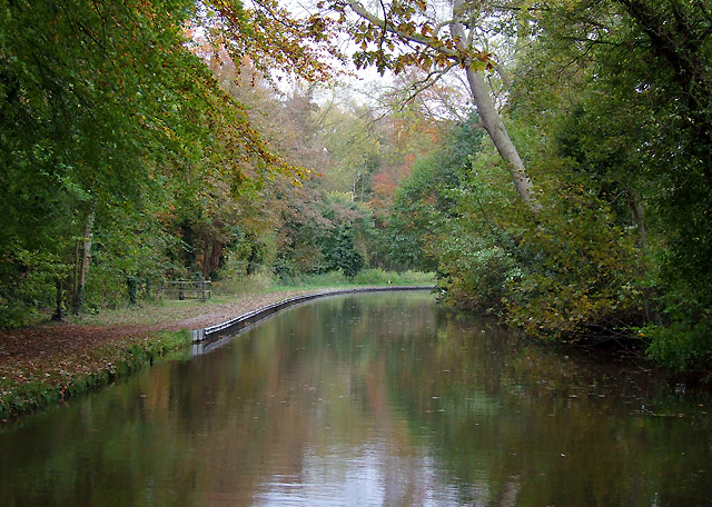 Trent and Mersey Canal at Colwich, Staffordshire