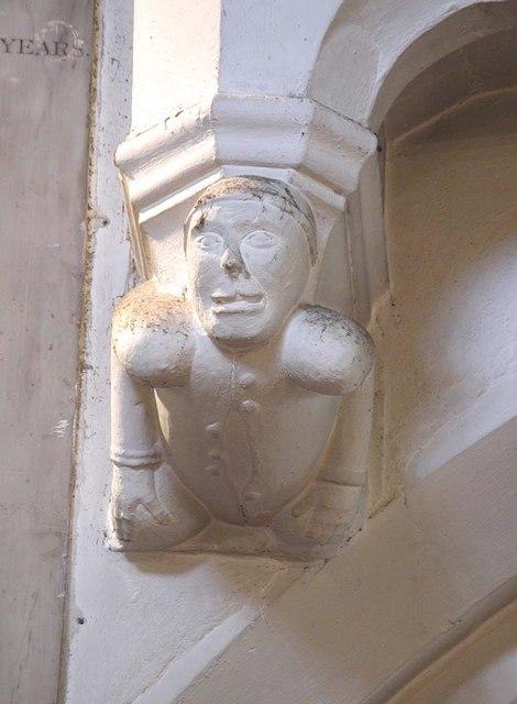St Mary, Hayes - Corbel
