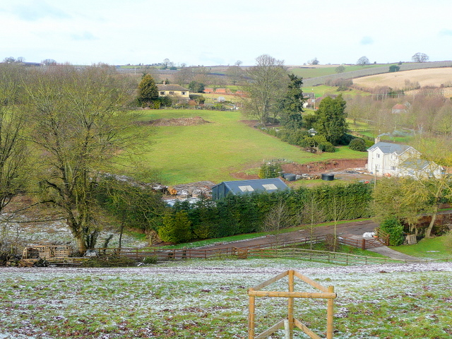 View to Gayton Farm