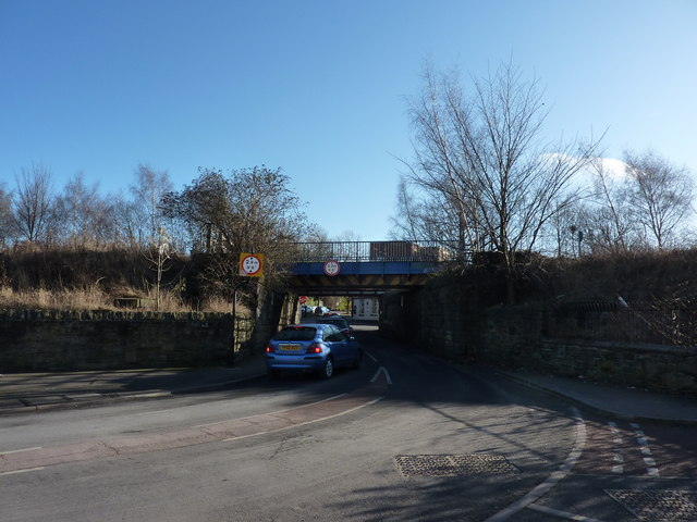Under the railway line to London Road, Heeley, Sheffield