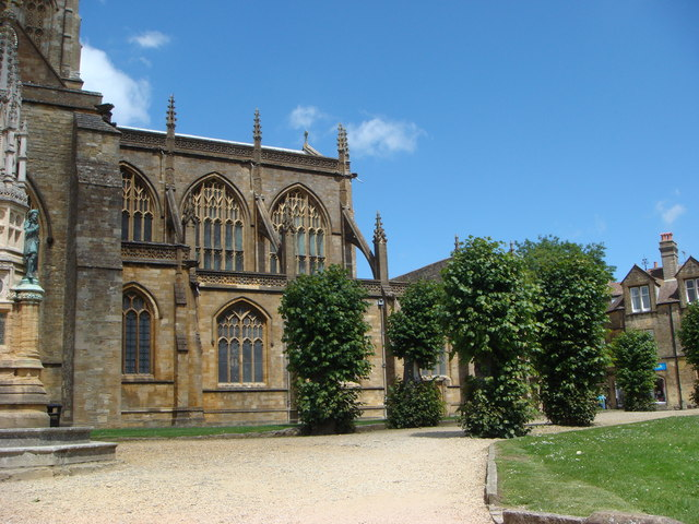 East End of Sherborne Abbey
