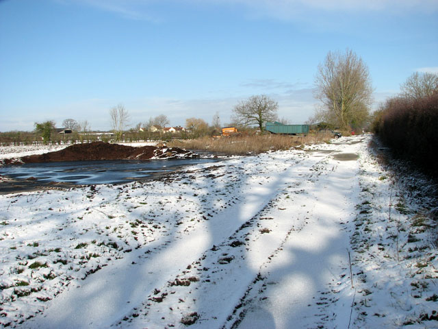 A snowy Highfield Lane