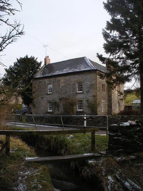Kniveton Old Hall from Kniveton Brook