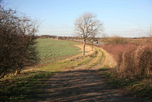 Farm track near Dadsley Well Bridge