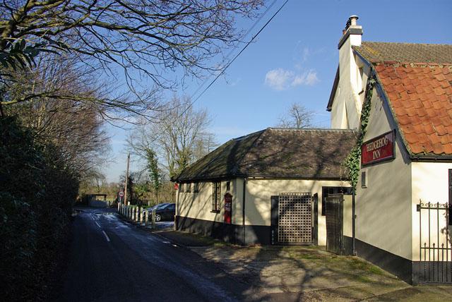 Hedgehog Inn - round the corner
