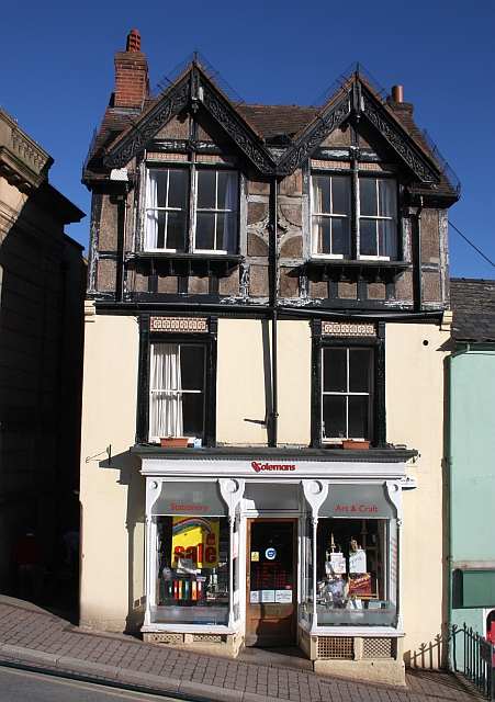 Colemans stationery shop, 5 Church Street, Malvern