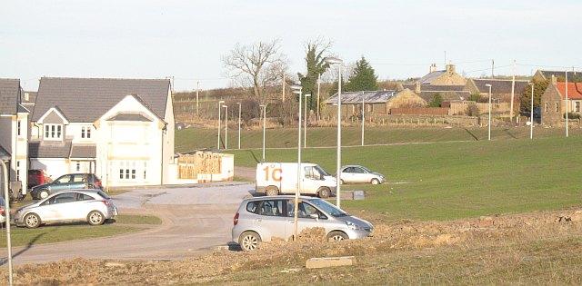 New housing estate, Mossend