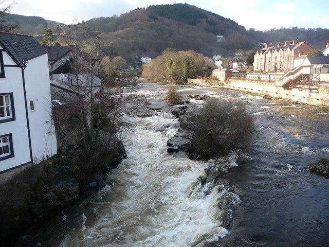 The Dee from Llangollen Bridge