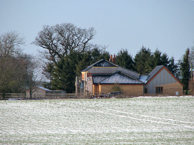New House Farm viewed from Highfield Lane
