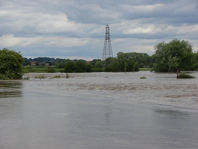Floods at Ambaston