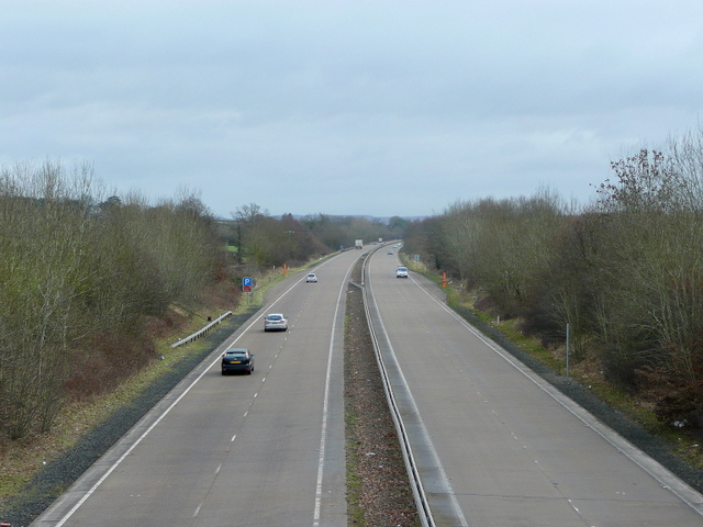 A40 looking east