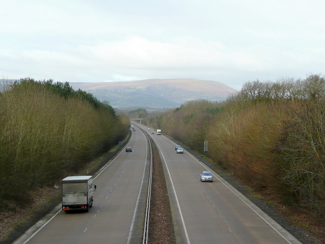 A40 heading west
