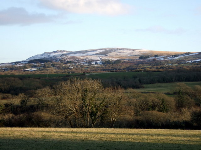 Winter view to Carningli