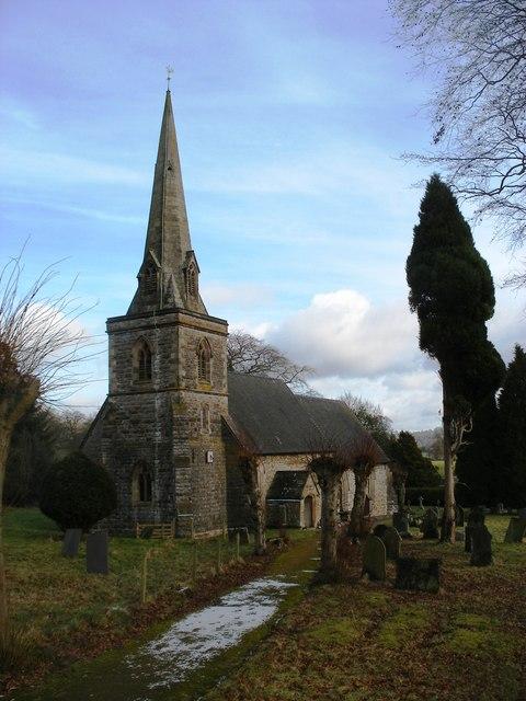 St Edmund's Parish Church at Fenny Bentley