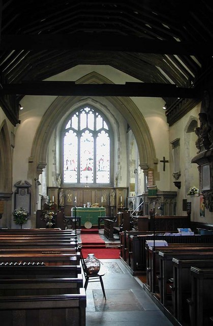 St Peter & St Paul, Harlington - East end