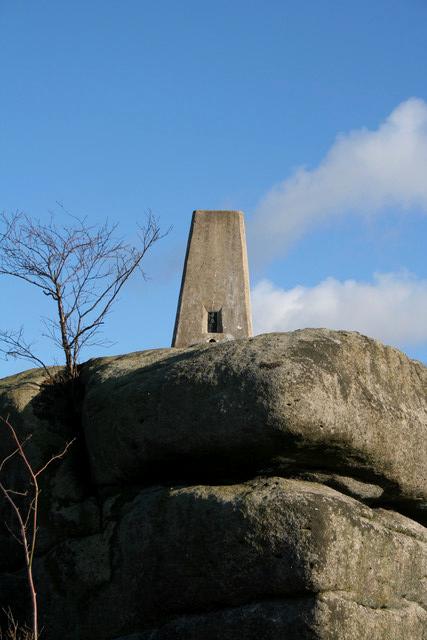 Trig Pillar, Norwood Edge
