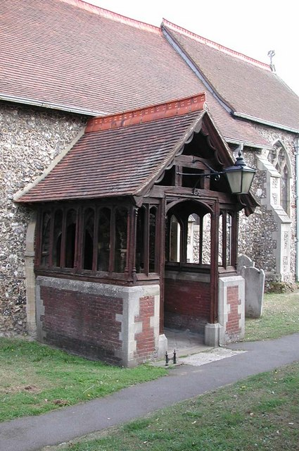 St Peter & St Paul, Harlington - Porch