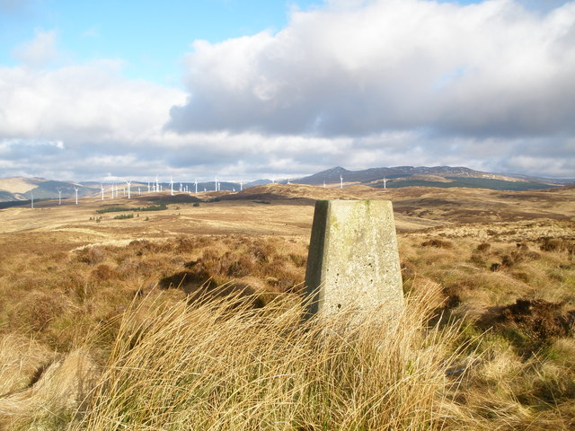 Trig Point on Cnocan Sgeir'e