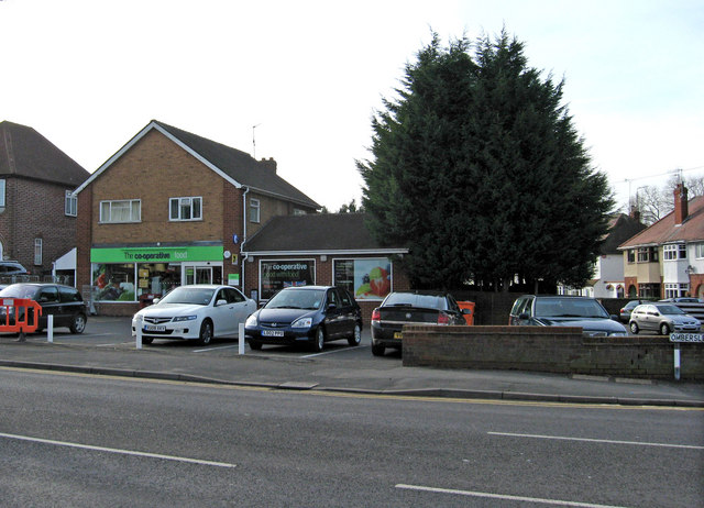Co-operative food store, 387 Ombersley Road, Worcester