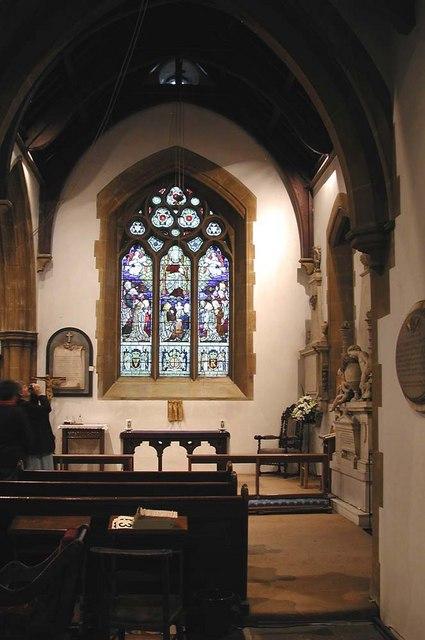 St Leonard, Heston - South chapel