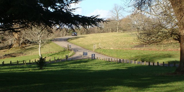 Access road to Saltram