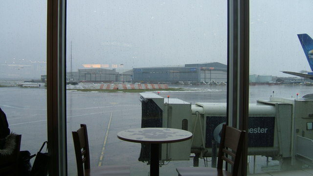 Manchester Airport viewed from Terminal 2