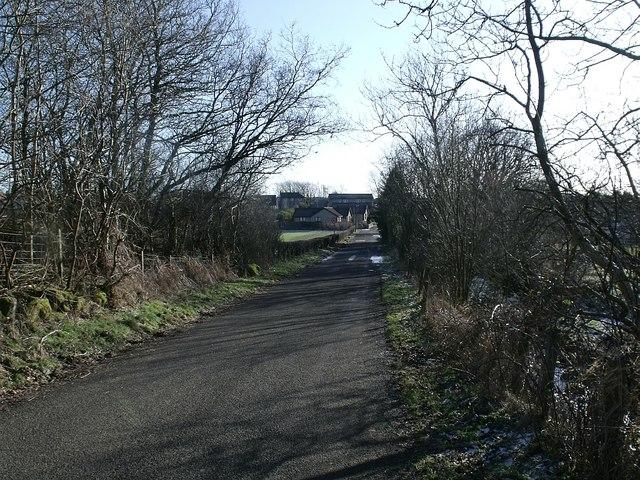Road into Banton