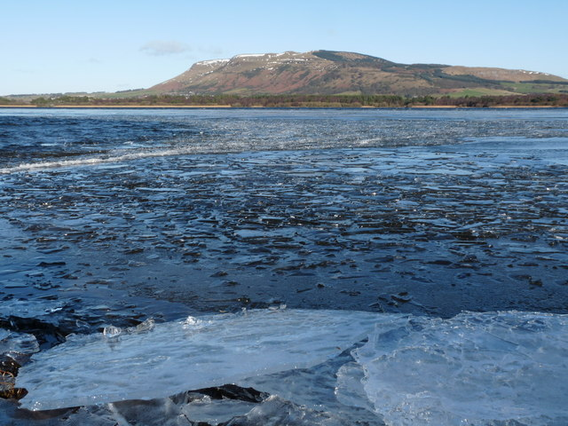 An Icy Loch Leven