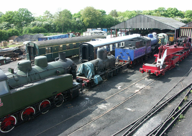 Nene Valley Railway sidings