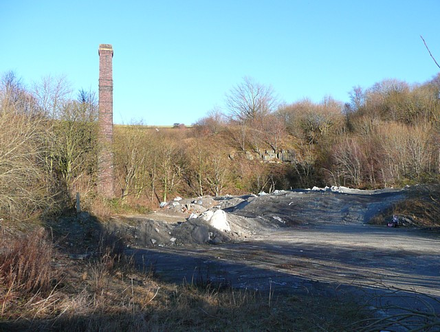 Site of Cinder Hills Fire Clay Works, Siddal Top Lane, Halifax