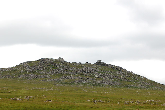 The northern flank of Rough Tor