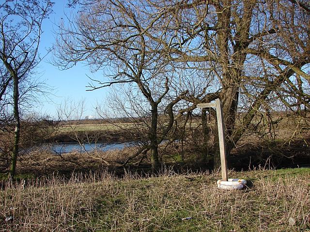 Signpost at Nooning ford
