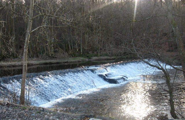 Weir on the River Devon