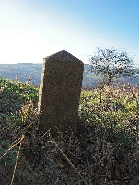 War Department Marker Stone, Jawbone Hill, near Oughtibridge