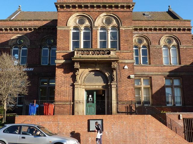 Highfield Library, London Road, Sheffield