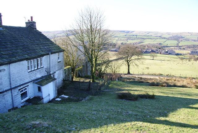 Hillside house above Edenfield