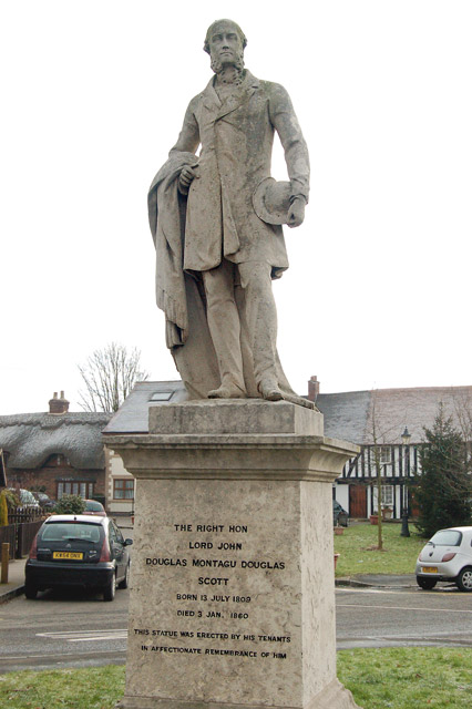 Statue of Lord Scott, Dunchurch