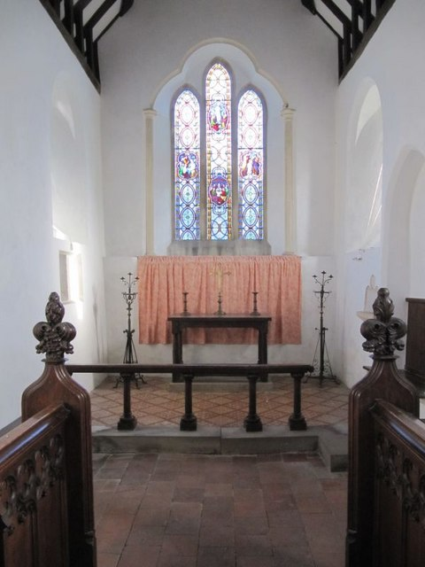 Chancel in St Mary's
