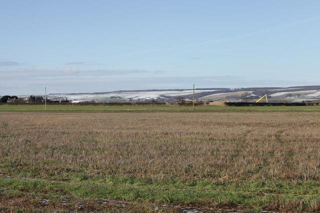 View of Yedingham Ings