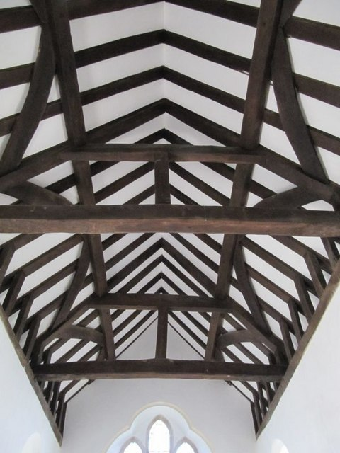 Roof in the Chancel