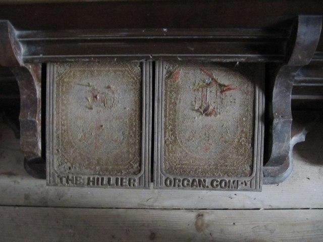 Well used organ