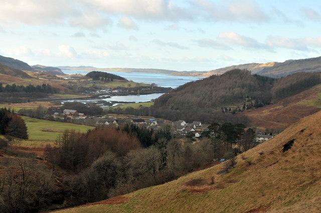 View across Kilmelford