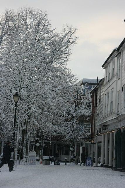 Snow, The Pantiles