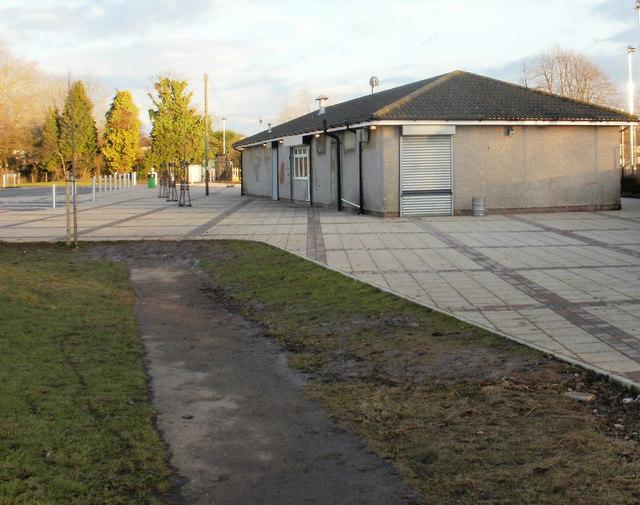 St Julians HSOB rugby clubhouse, Glebelands, Newport