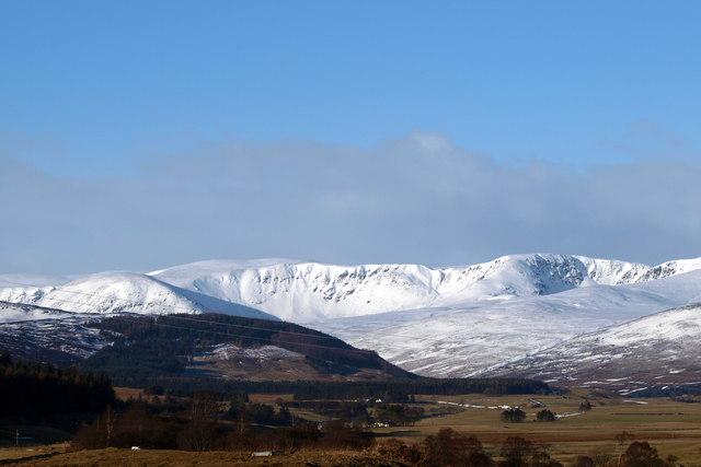 View of Glen Clova