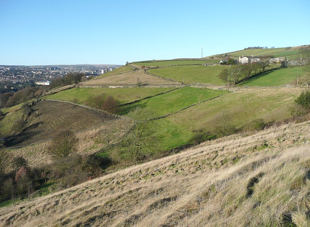 View of the Siddal hillside, Halifax