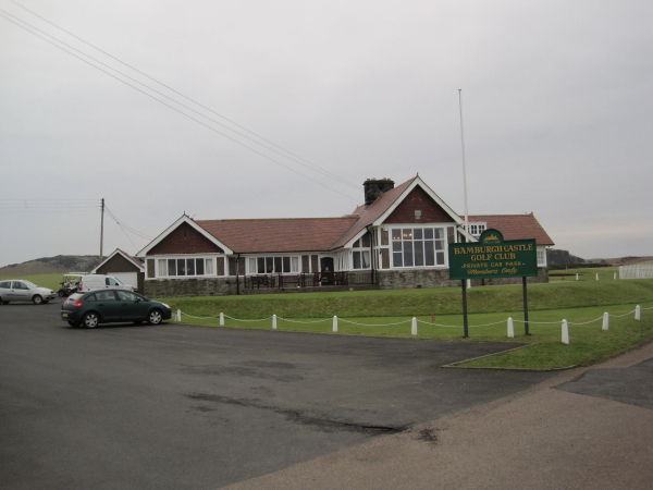 Bamburgh Golf Course Clubhouse