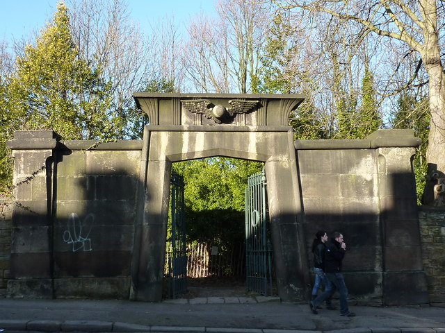 The Egyptian Gate, Sheffield General Cemetery