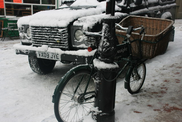 A Butcher's Bicycle